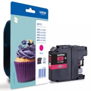 CARTOUCHE COMPATIBLE BROTHER MAGENTA LC123M