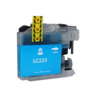 CARTOUCHE COMPATIBLE BROTHER CYAN LC223C