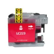 CARTOUCHE COMPATIBLE BROTHER MAGENTA LC223M